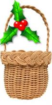 Christmas-Ornament-Holly-basket-kit