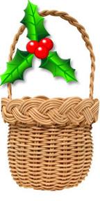 Christmas-Ornament-Holly-basket-kit