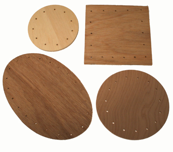 Round & Square Plywood Bases