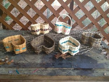 Cape Cod blueberry basket with my own embllishments.  Karen Gramenz, Blairsville, GA