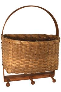 Wall Hanging Basket wall hanging basket with pegs