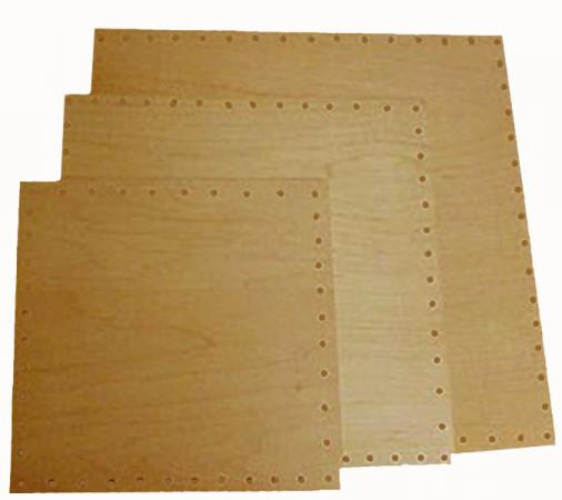 Square Birch Plywood Bases